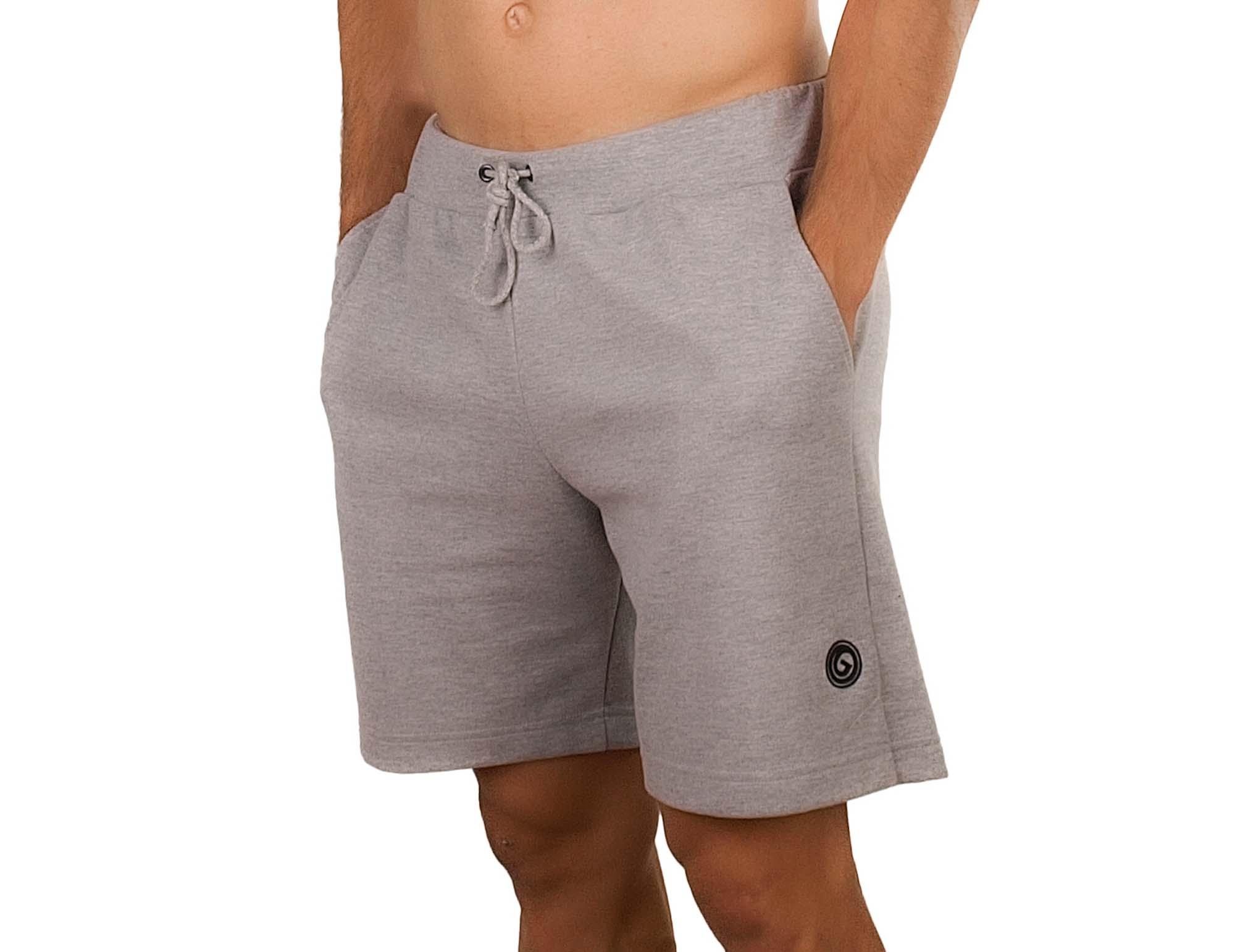Short homme en coton avec poches