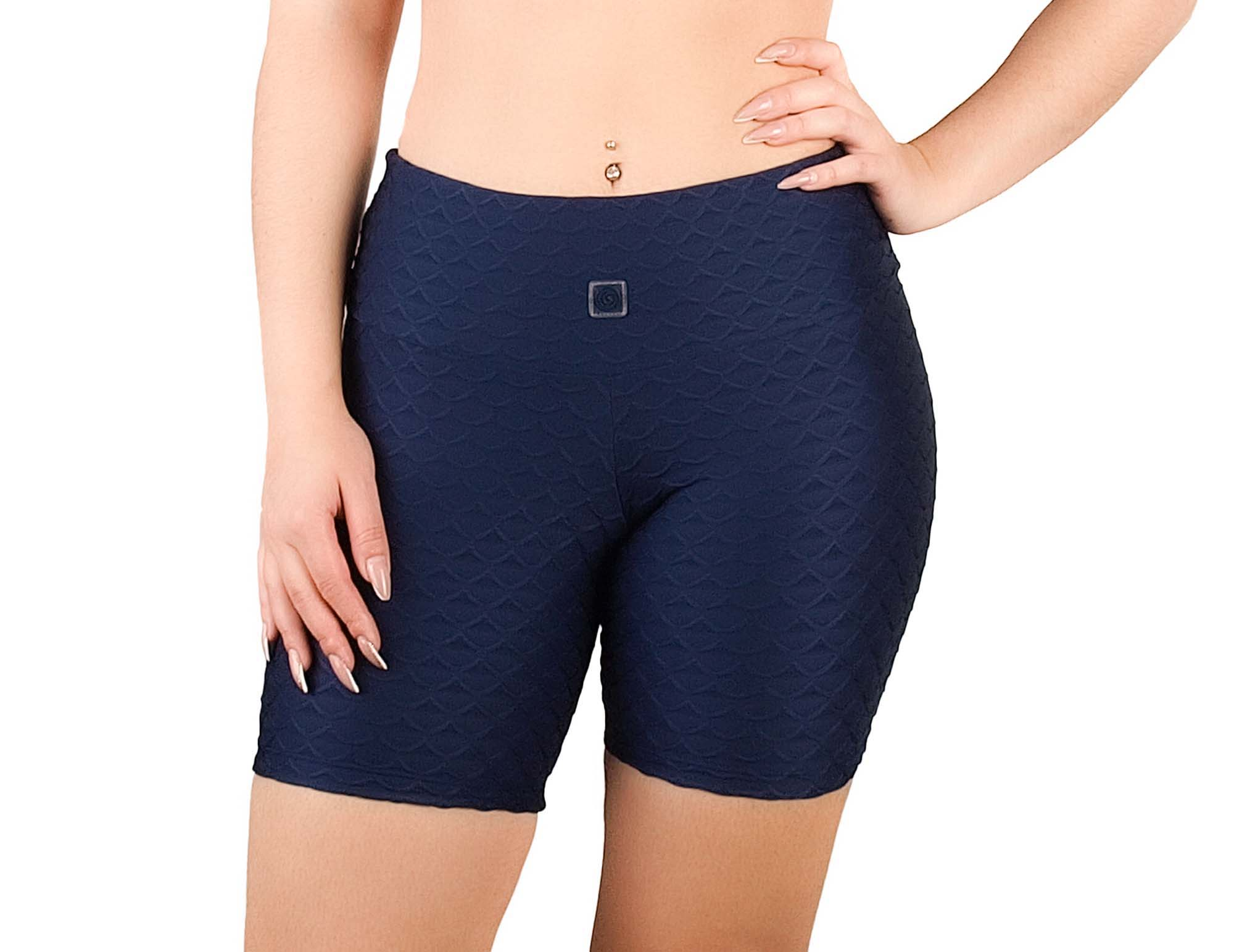 Shorts con efecto textura para mujer