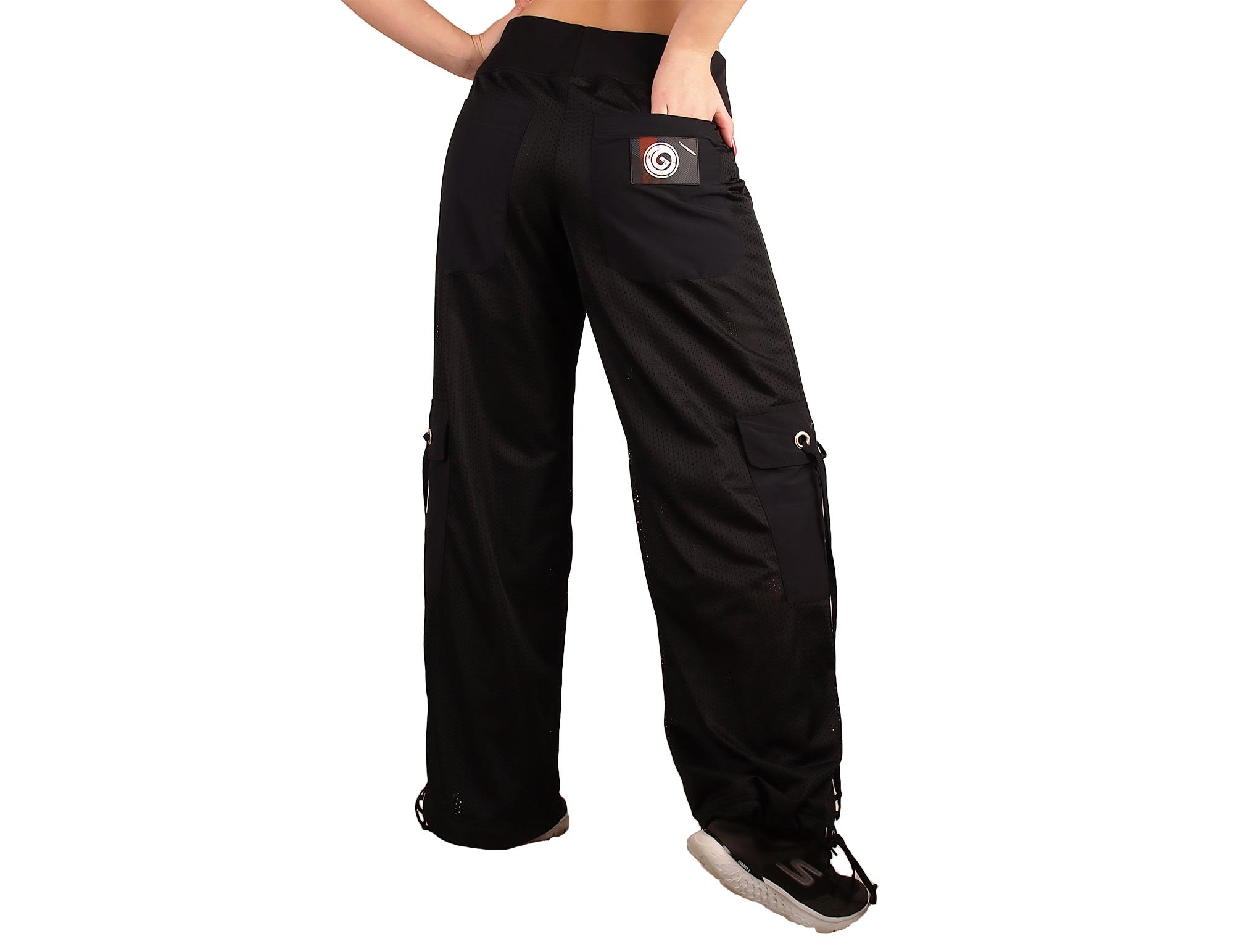 Pantalon de sport femme, coupe droite