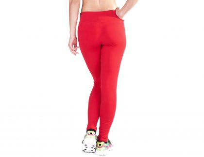 Legging em supplex cintura subida