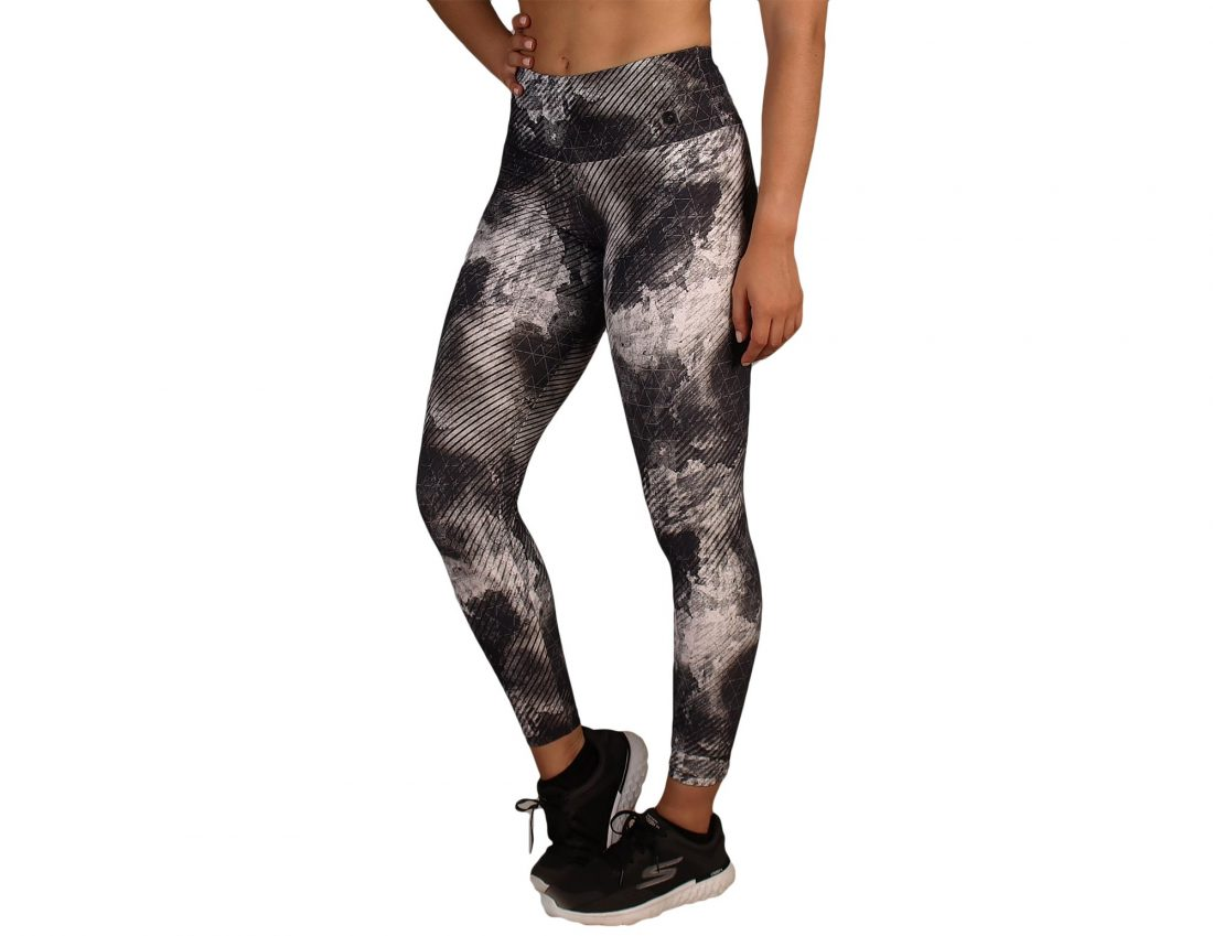 Leggings desporto Printed Preto