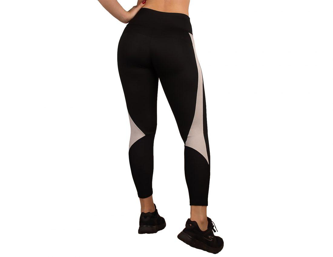 Legging desporto para mulher com efeito modelador