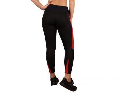 Legging desporto para mulher com efeito textura