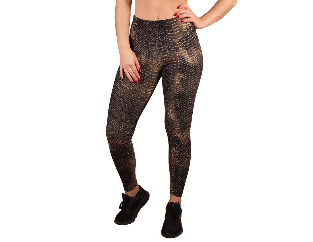 Legging sport woman high waist animal printed