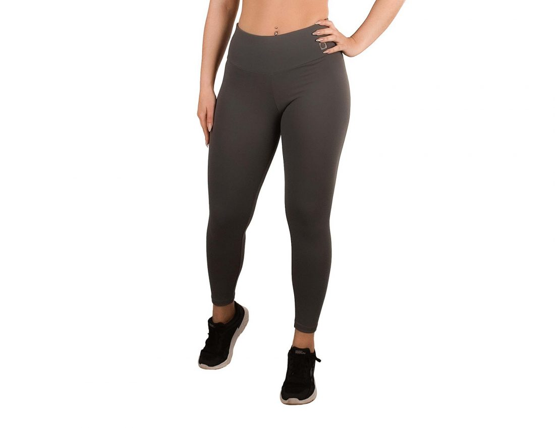 Sporty leggings with high waist for women