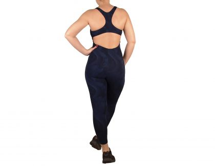 Women's overalls, open competition strap on the back