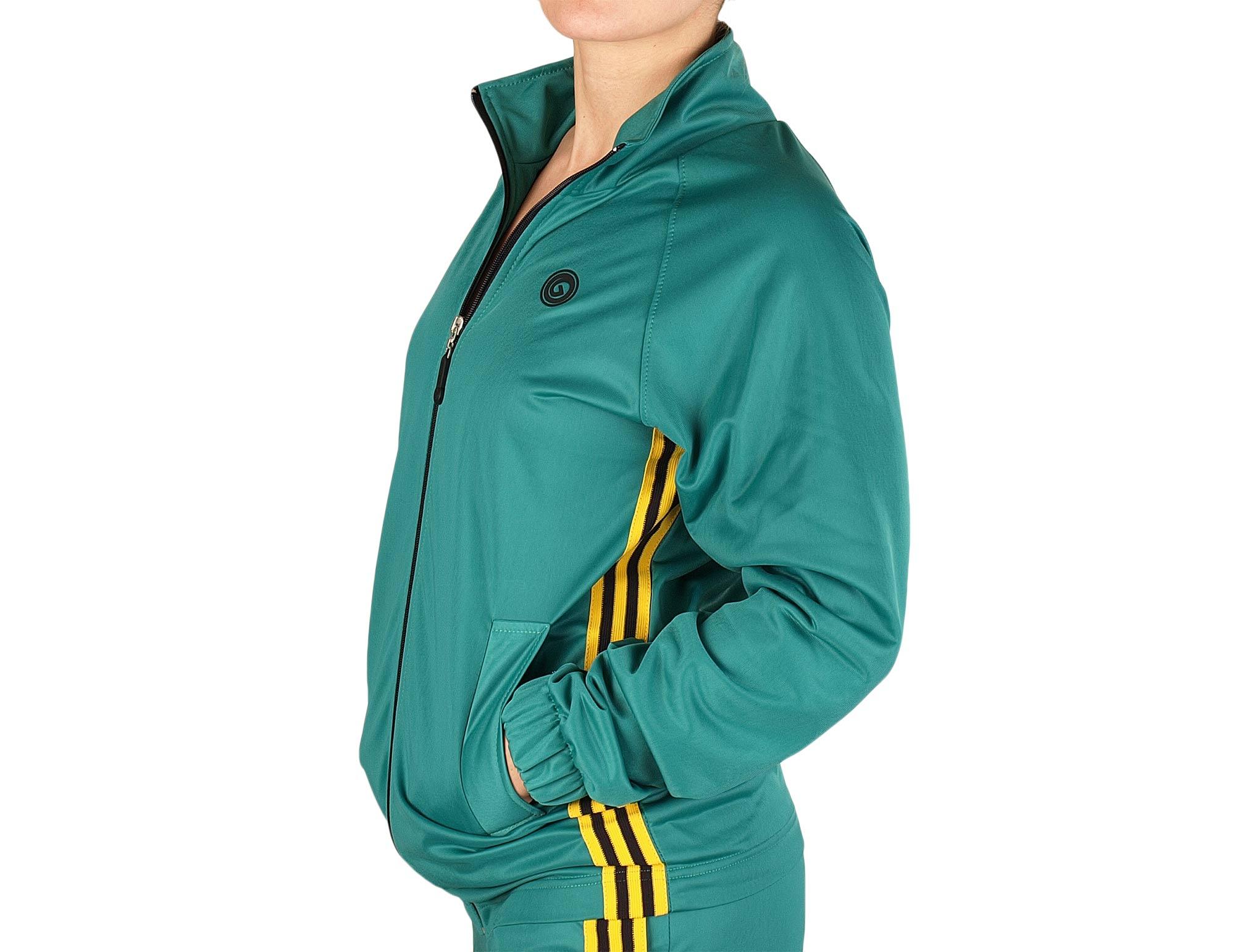 Veste de sport pour femme avec zip