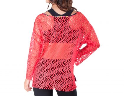LONG SLEEVE TUNIC FIRE GARDEN